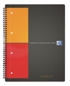 Oxford INTERNATIONAL Notebook, 160 bladzijden, ft A4+, geruit 5 mm