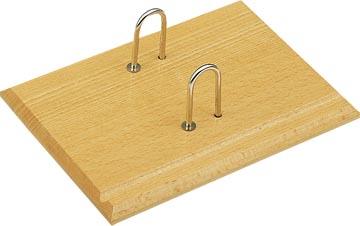 Wonday houten agenda- of memoblokhouder