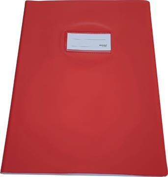Bronyl schriftomslag ft 21 x 29,7 cm (A4), rood