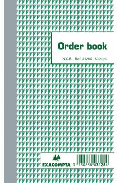 Exacompta orderbook, ft 17,5 x 10,5 cm, dupli (50 x 2 vel)