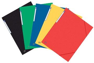 Oxford Top File+ elastomap, voor ft A3, geassorteerde kleuren