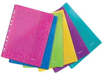 Leitz WOW geperforeerde showtas A4, uit PP, geassorteerde kleuren