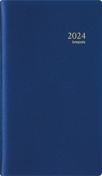 Brepols agenda Interplan Genova 6-talig, blauw, 2022