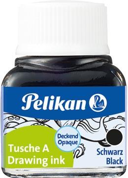 Pelikan Oost-Indische inkt zwart, flesje van 10 ml