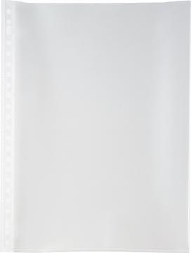 Pergamy geperforeerde showtas, A4, 23-gaatsperforatie, glasheldere PP van 90 mciron, doos van 100 stuks