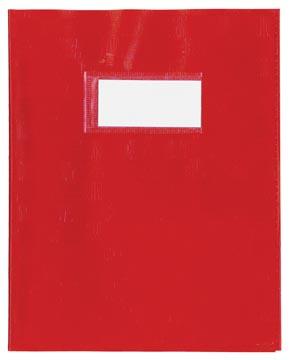 schriftomslagen rood