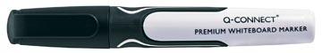 Q-Connect whiteboard marker, ronde punt, zwart