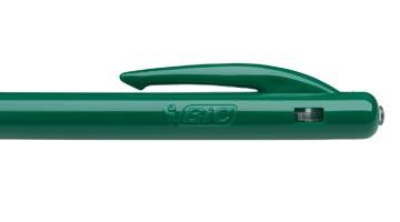 Bic balpen M10 Clic schrijfbreedte 0,4 mm, medium punt, groen